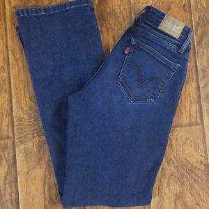 Levis 529 size 4 curvy bootcut jeans